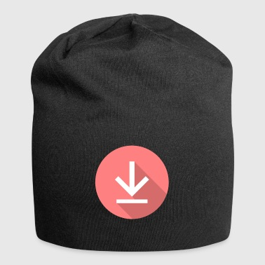 Download icon, download icon - Jersey Beanie