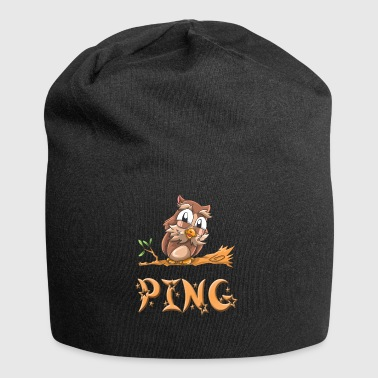 Eule Ping - Jersey-Beanie
