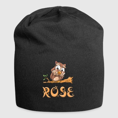 Owl rose - Jersey Beanie