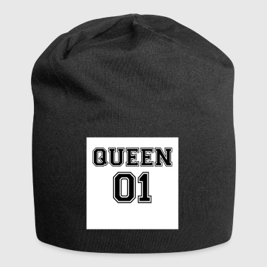 dronning 01 - Jersey-Beanie