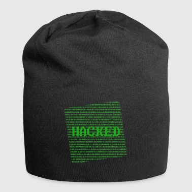 hacked - Beanie in jersey