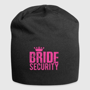 Best Bride Security T-shirt Bridal Party - Jersey Beanie