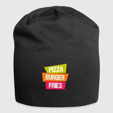 patatine fritte Pizza Burger - Beanie in jersey