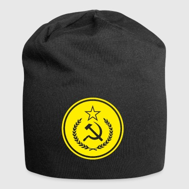 Hammer Sickle Badge - Jersey-Beanie