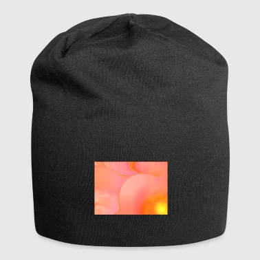 sart orange-pink design. - Jersey-Beanie