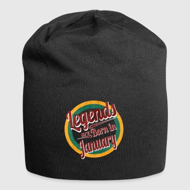 Legends are Born in January - Jersey Beanie