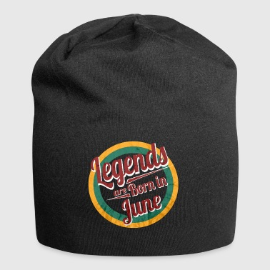 Legends are Born in June - Jersey-Beanie