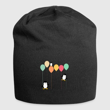 Penguins and balloons - Jersey Beanie