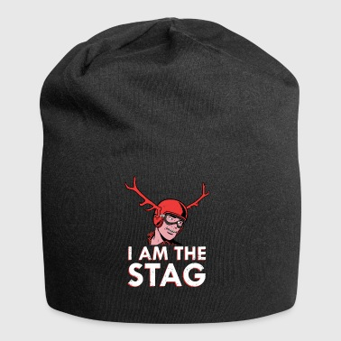 I Am The Stag Bachelor's Party T-shirt Gift - Jersey Beanie