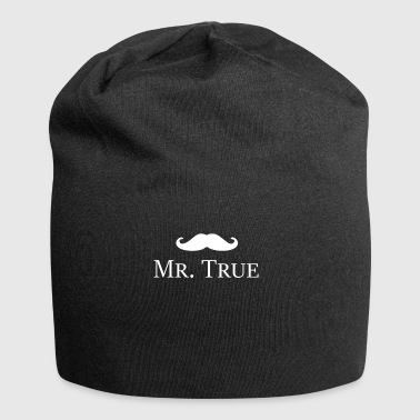 Mr. TrueGentleman Beard idea regalo premio - Beanie in jersey