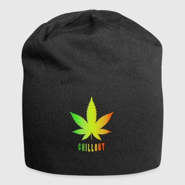 Ganja - Chillout - Beanie in jersey