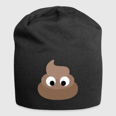Divertente turd cacca - Beanie in jersey