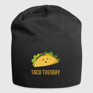 Taco lustig Tacos tuesday Essen Fastfood T-Shirt - Jersey-Beanie