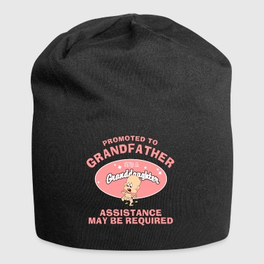 Promoted To Grandfather Granddaughter - Jersey Beanie