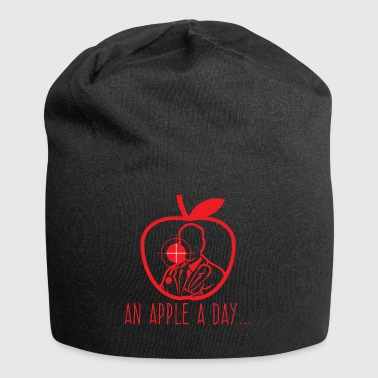 Doctor / Health Practitioner: An Apple A Day Keeps The Doctor - Jersey Beanie
