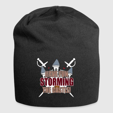 Tales: Have Fun Storming The Castle - Used Look - Jersey Beanie