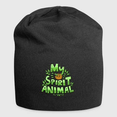 My Spirit Animal - Sloth Sloth Laziness Slow - Jersey Beanie