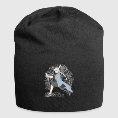 Or chi kung fu girl - Jersey Beanie