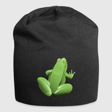 frog animal lovers - Jersey Beanie