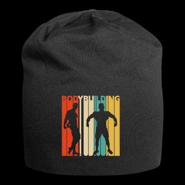 Bodybuilding vintage retrò. Regali per Bodybuilder - Beanie in jersey
