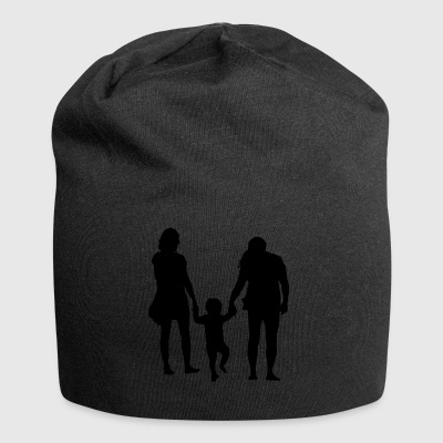 Parents with child - Jersey Beanie