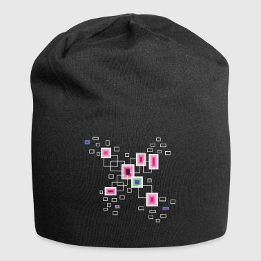 Pink square - Jersey-Beanie