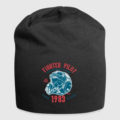Fighter Pilot2 - Jersey Beanie