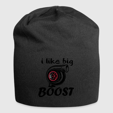 text i like Boost - Jersey-Beanie