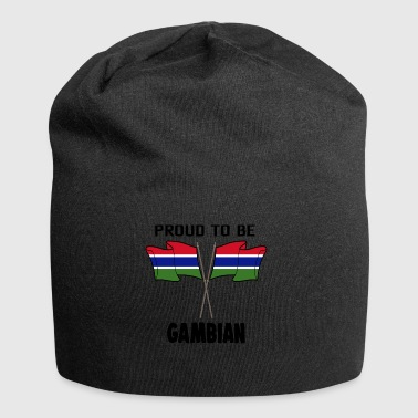 Proud to be land heimat Gambia - Jersey-Beanie