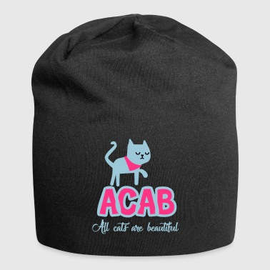 Alle Cats Are Beautiful - Jersey-Beanie