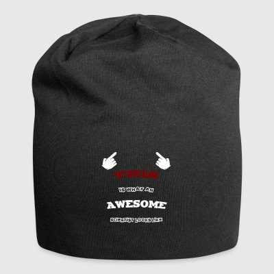 Awesome videnskabsmand - Jersey-Beanie