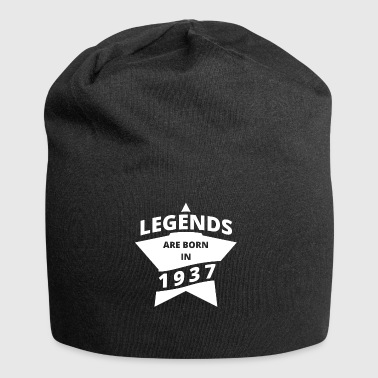 Legends are born in 1937 - Jersey Beanie