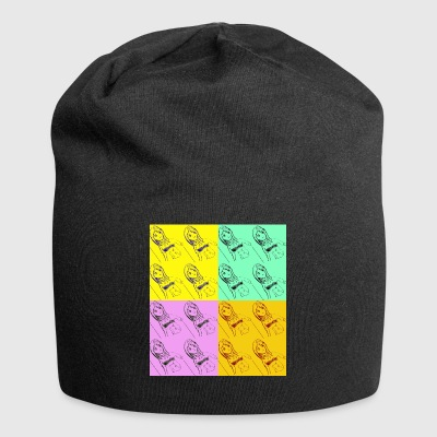 pop art - Beanie in jersey
