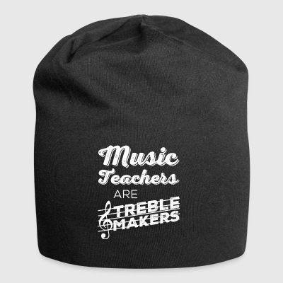 music teachers are treble makers - Jersey Beanie