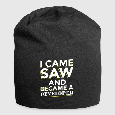 I CAME SAW AND BECAME A DEVELOPER - Jersey Beanie