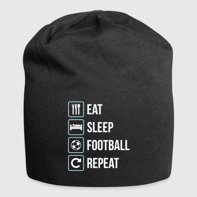 Eat Sleep Calcio Repeat - Beanie in jersey