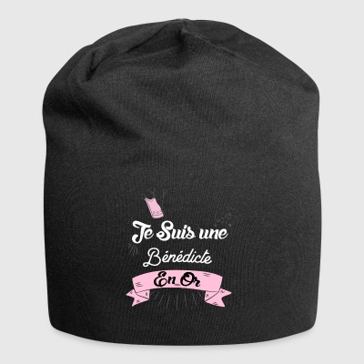 Une Be ne dicte en or - Bonnet en jersey