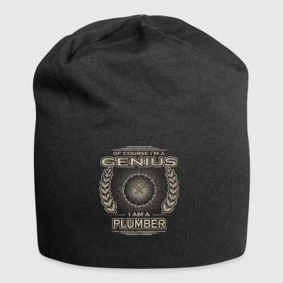 yes i am a genius gift PLUMBER WORKER114 - Jersey-Beanie