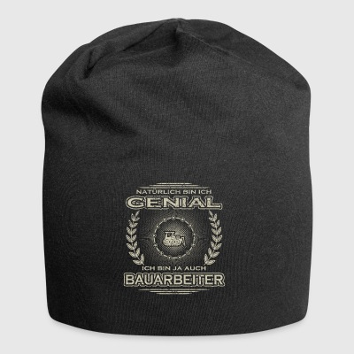 Gift Ingenious I am the master construction excavator crane - Jersey Beanie