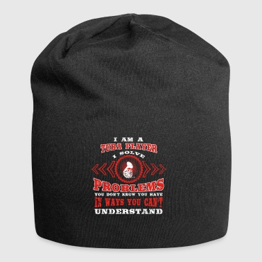 gift solve problems know TUBA PLAYER - Jersey Beanie