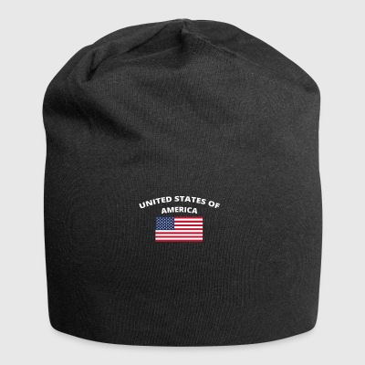 I love home homeland love roots UNITED STATES - Jersey Beanie