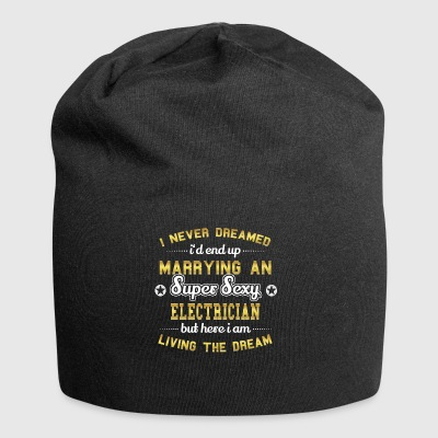 MARRY WIFE HUSAND SUPER SEXY ELECTRICIAN - Jersey Beanie