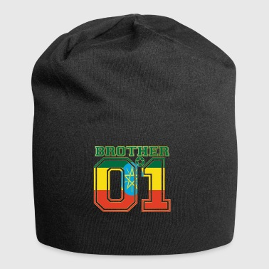 brother brother brother 01 partner Ethiopia - Jersey Beanie