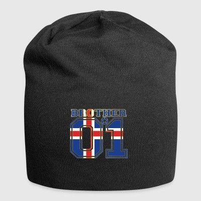 brother brother brother 01 partner Iceland - Jersey Beanie