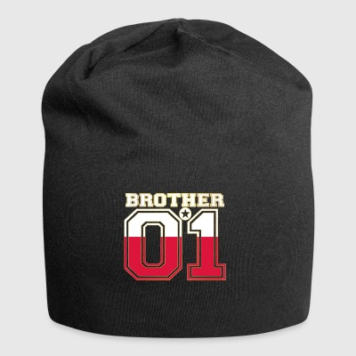 brother brother brother 01 partner POLAND polska poland - Jersey Beanie