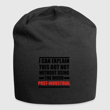Can explain relationship born love POST INDUSTRIAL - Jersey Beanie