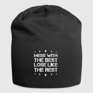 Mess with best lose king queen Legendary Longboard - Jersey-Beanie