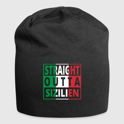 Straight outta Italia Italy Sizilien - Jersey-Beanie