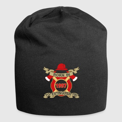 Born 1997 Fire Fire Department - Jersey Beanie