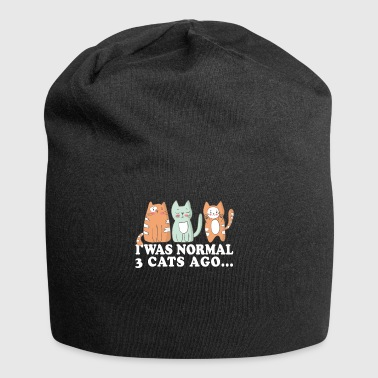 Cats Meow normal pels pote Crazy gave - Jersey-beanie
